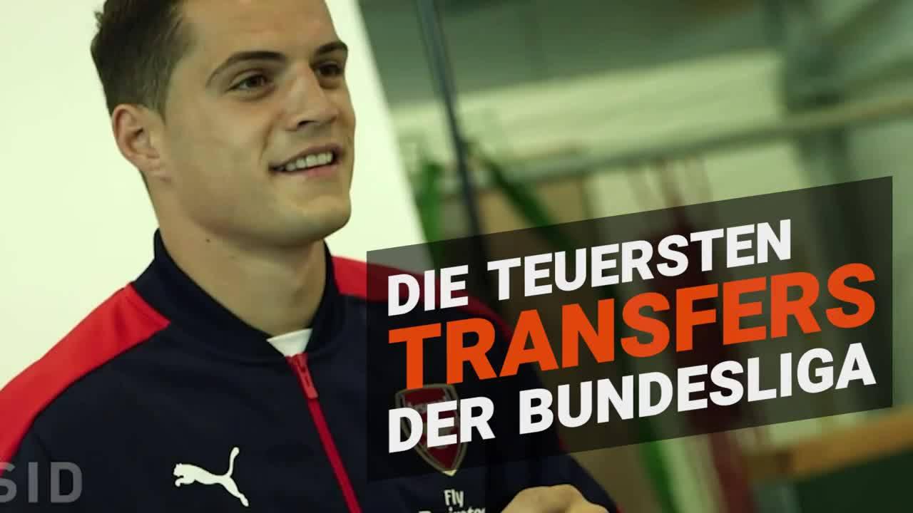 teuersten transfers